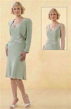 Straps Coat/ Jacket Knee-length Sheath Mother's #Dress Style Code: 00184 $109