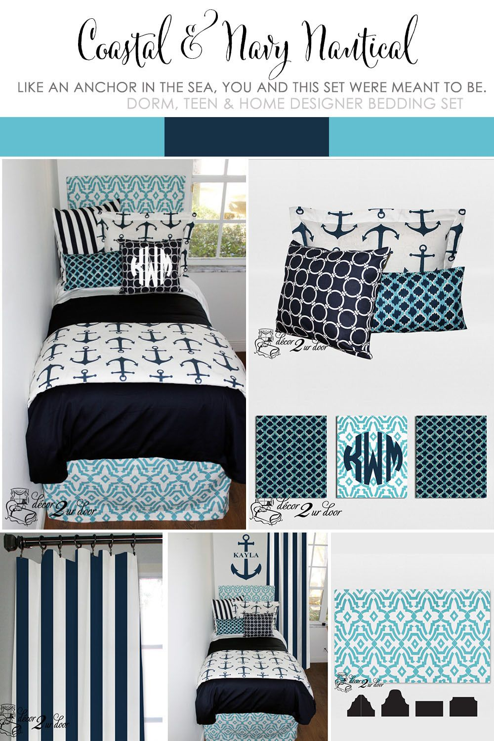 2019 year look- Dorm Nautical-Inspired Design