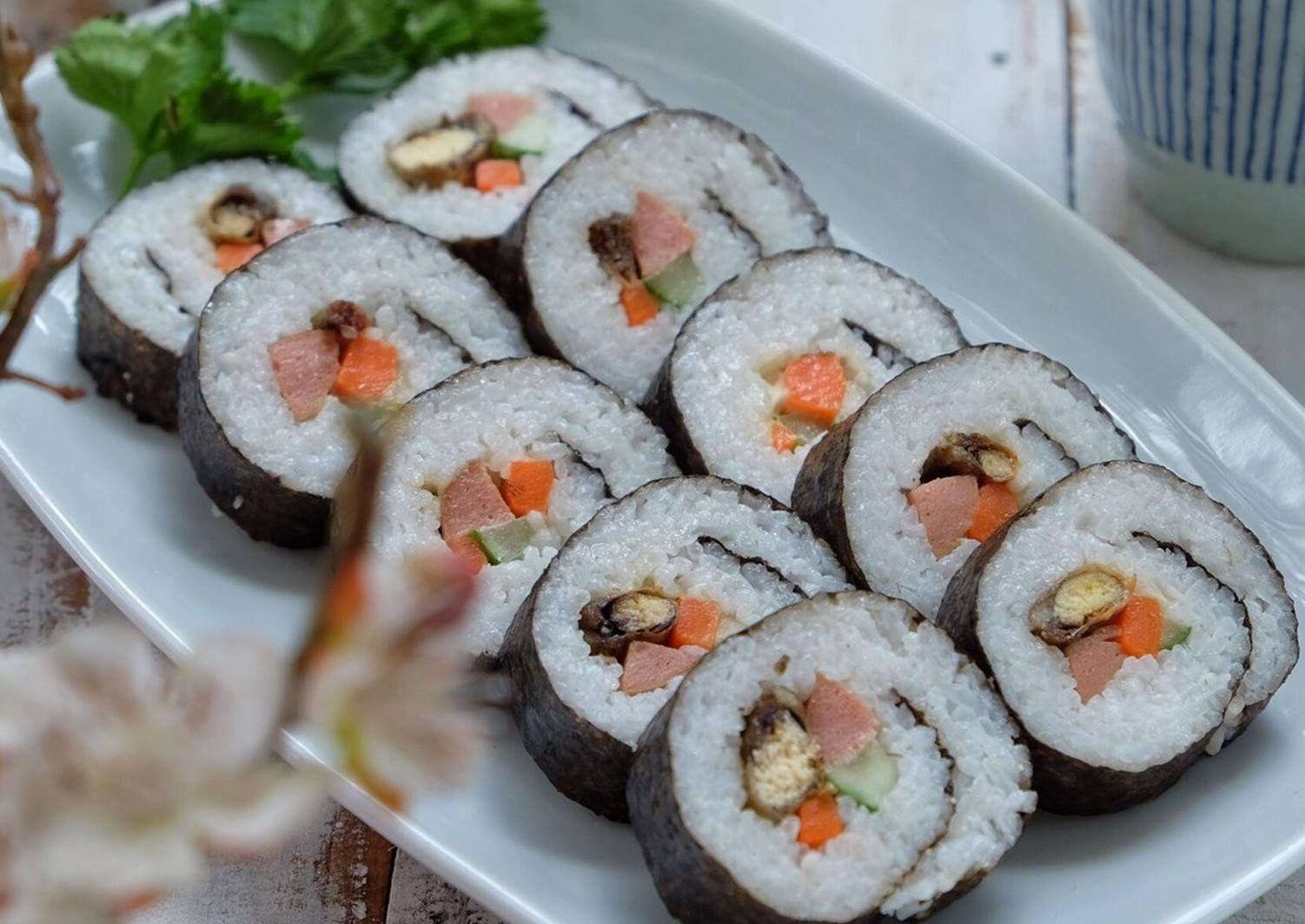 Resep Sushi Oleh Susi Agung Resep Resep Sushi Makanan Resep