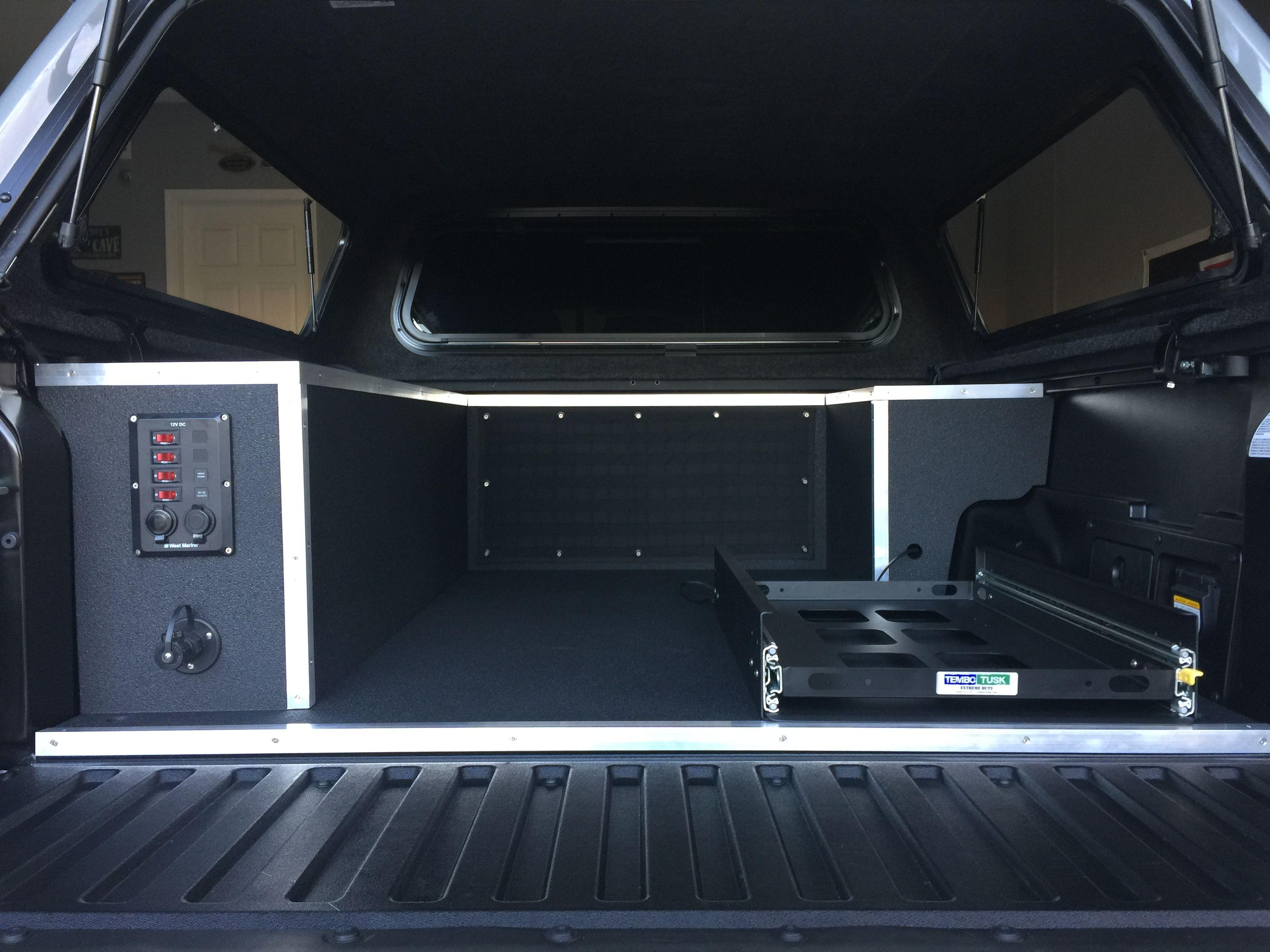 2017 Toyota custom truck bed storage Cargo