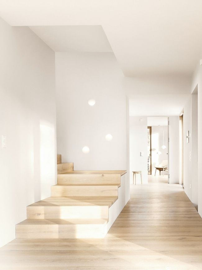 idee-decoration-interieur-minimaliste-couloir | Corridor and Stairways