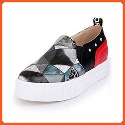 2e3bdf863d718 Summerwhisper Women's Rhinestone Print Elastic Slip on Loafers Flats ...