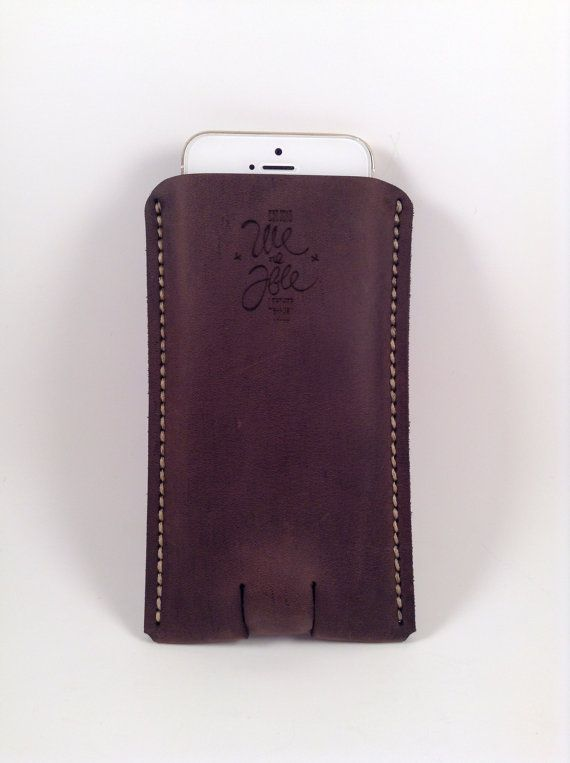 Kvitka Hand Crafted Iphone 5/5s Case Handmade leather case st. Valentine's day present for him awesome case for Iphone