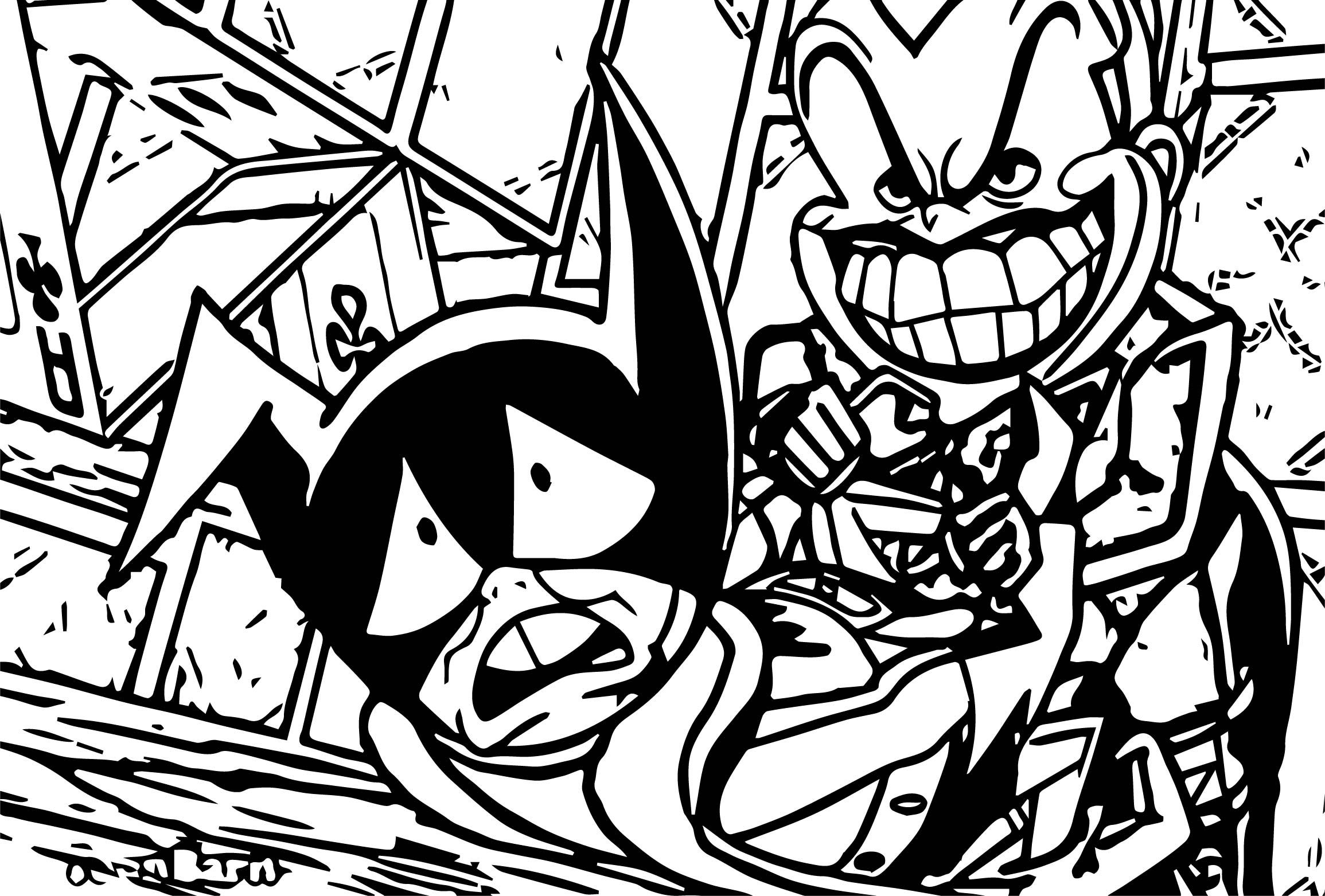 Cool Emperor Joker Attacks Batman The Brave And The Bold On Cartoon Network Coloring Page Lego Coloring Pages Coloring Pages Cartoon Coloring Pages
