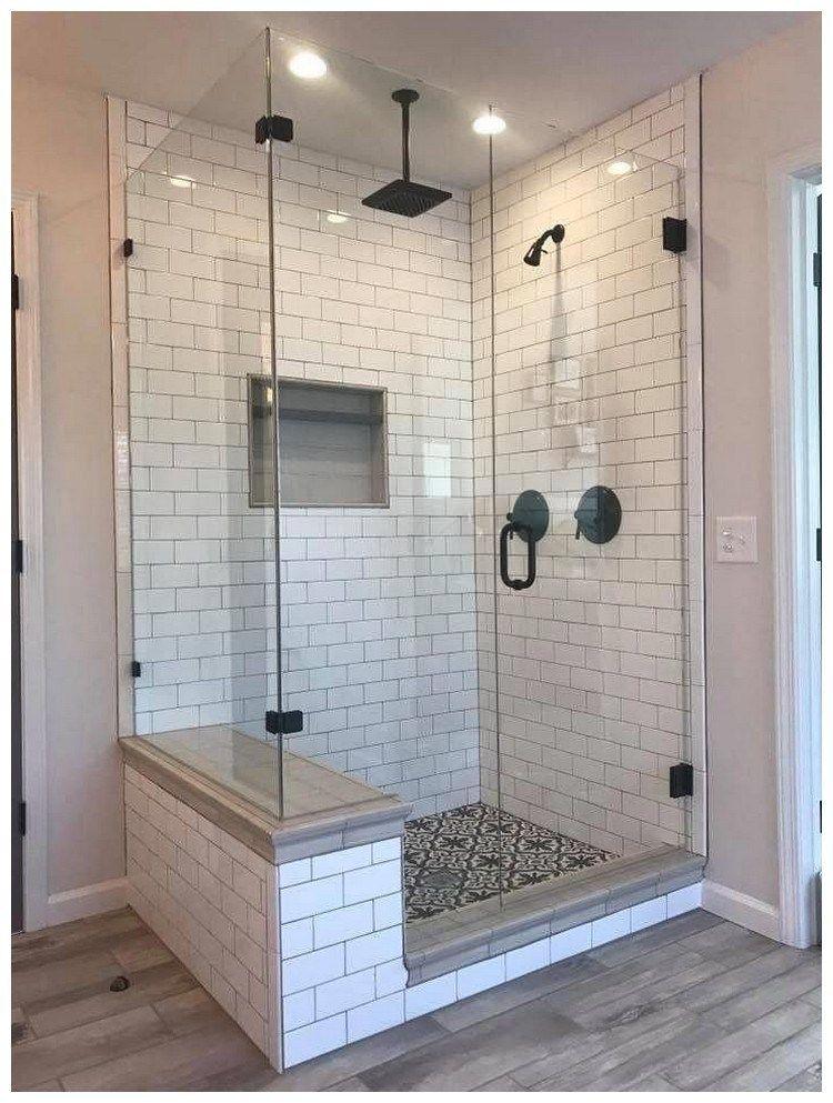 45 Master Bathroom Walk In Shower Ideas 10 Bathroom Remodel Shower Farmhouse Shower Bathroom Remodel Master