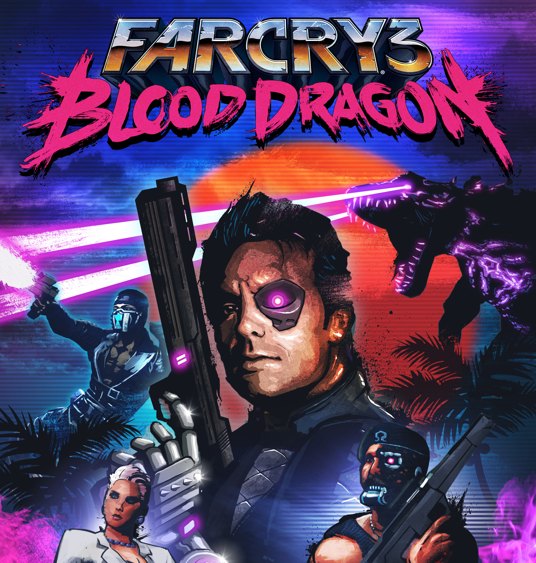 Far Cry 3 Blood Dragon Wallpaper Far cry 3, Pc games