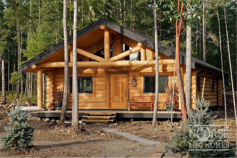 Cabins Custom Log Homes Log Home Builders Designs Plans Construction Nanaimo Bc Canada Usa Log Homes Log Siding House Styles
