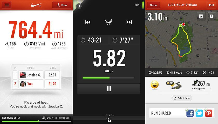 Don't ume Your Mileage: iPhone Apps For Runners | Exercise ... on
