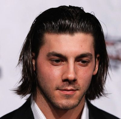 Kris Letang on Tapered Shag Haircut