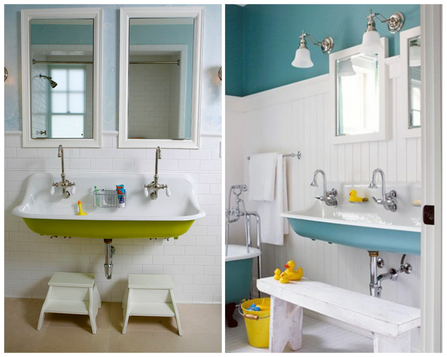 Jack and Jill Bathrooms & Kids Bath Design (With images ...