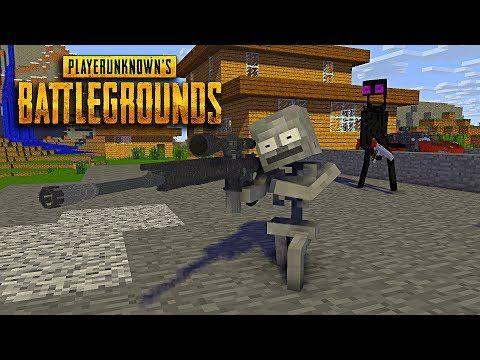 Monster School Player Unknown Battlegrounds Pubg Challenge