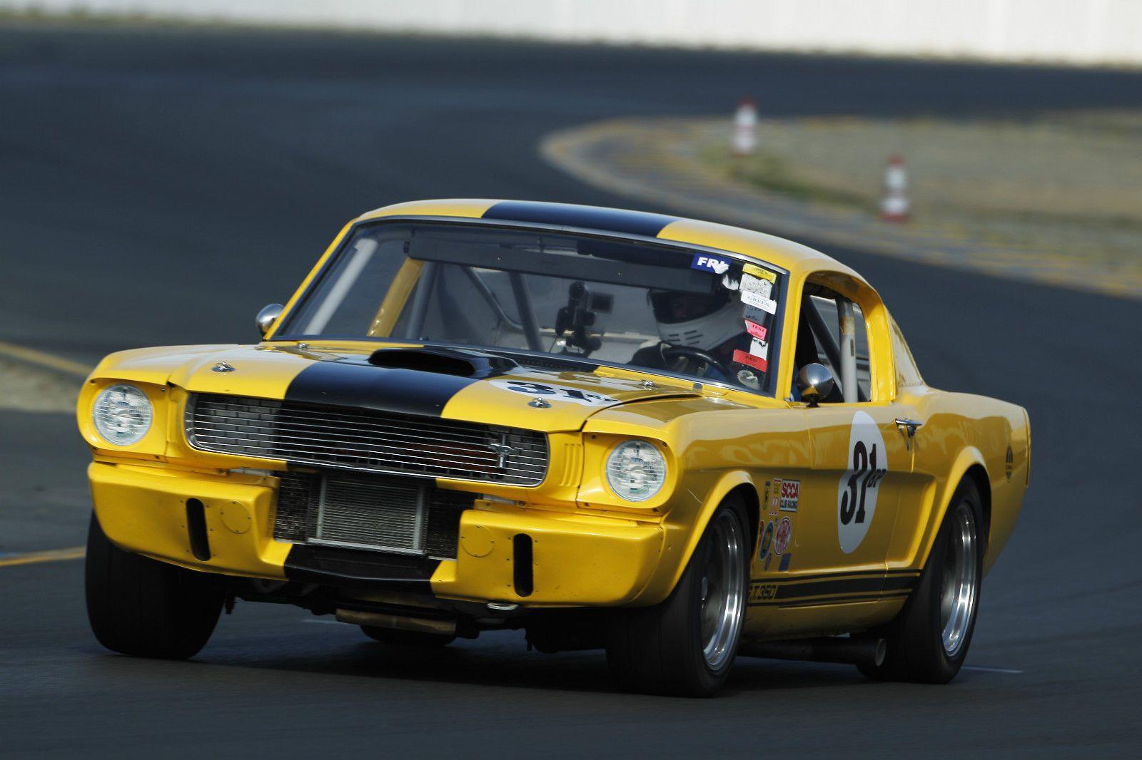 A rare original 1966 shelby gt350 vintage race car