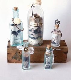 Diy Recycled Glass Bottle Frames With Images Recycled Glass