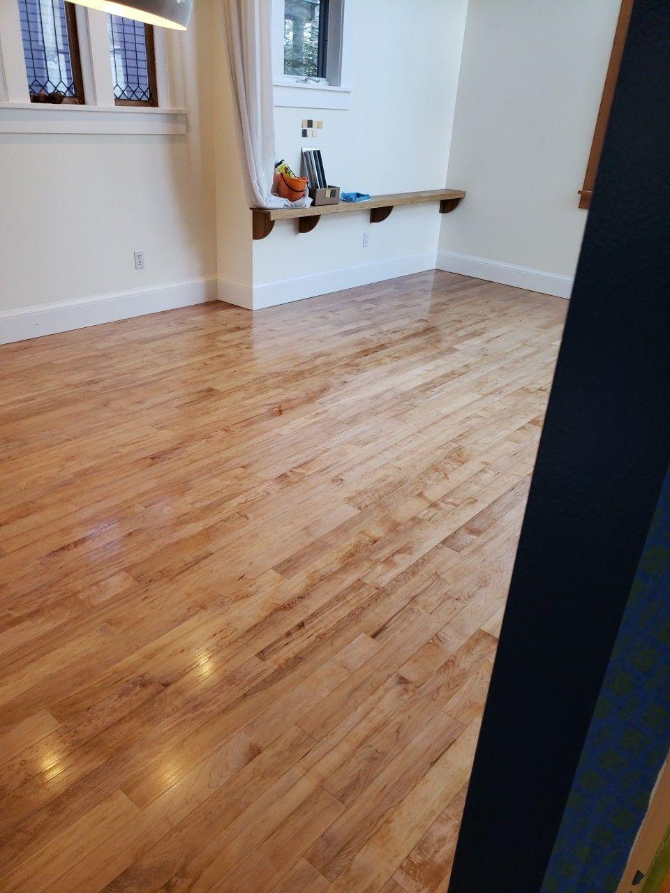 Maple Floor Stained Duraseal Golden Pecan Maple Floors Floor Remodel Hardwood Floor Stain Colors