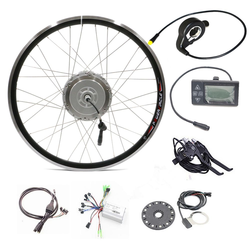 48v 250w 350w 500w Bicycle Electric Motor Kit Ebike Components ...
