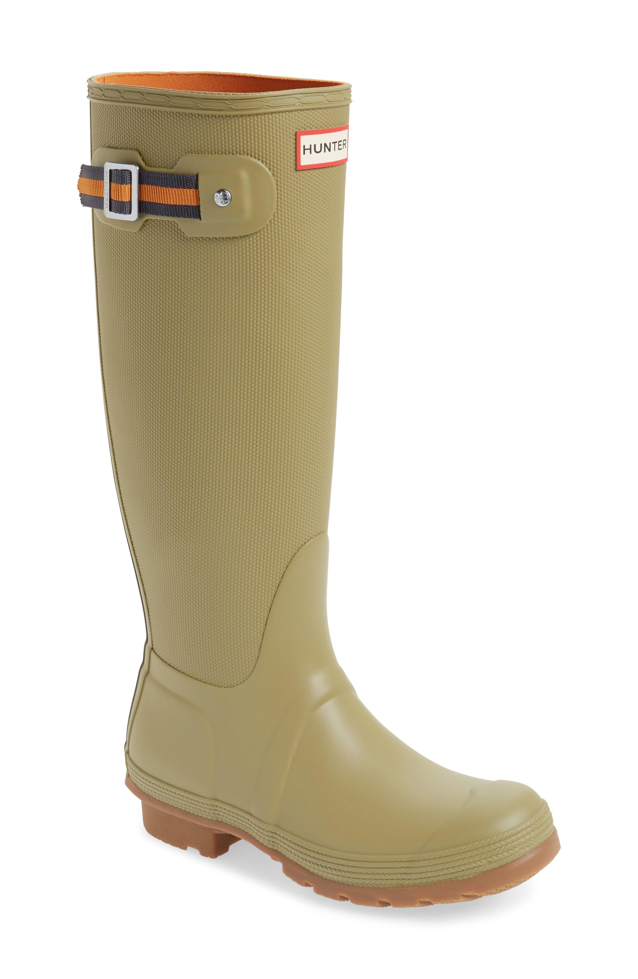 Buy HUNTER Original Sissinghurst Tall Rain Boot online. New HUNTER Boots.  [$175]