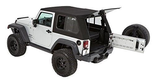Bestop 54852 17 Trektop Pro Hybrid Soft Top For Jk 2 Door As