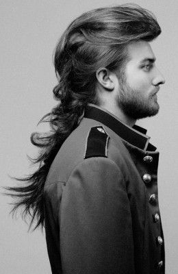 Fabulous 1000 Images About Longhair Styles On Pinterest Men With Long Short Hairstyles Gunalazisus