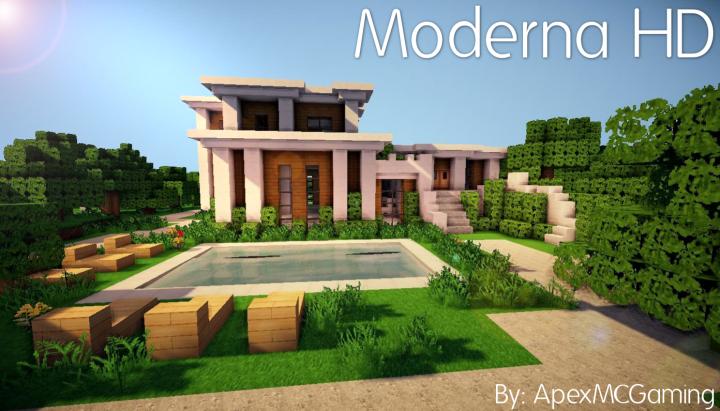 Moderna Resource Pack for Minecraft 1.11 | Texture Packs