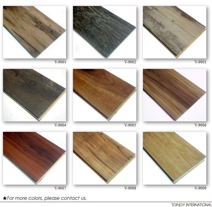 Flooring Click Lock Vinyl Floor Tile