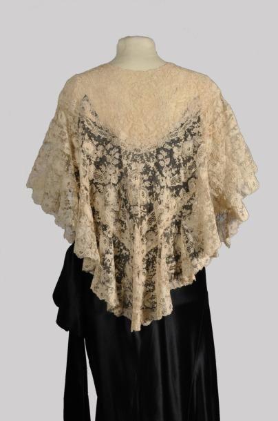 Callot Soeurs, dress, labeled, summer 1933. Back