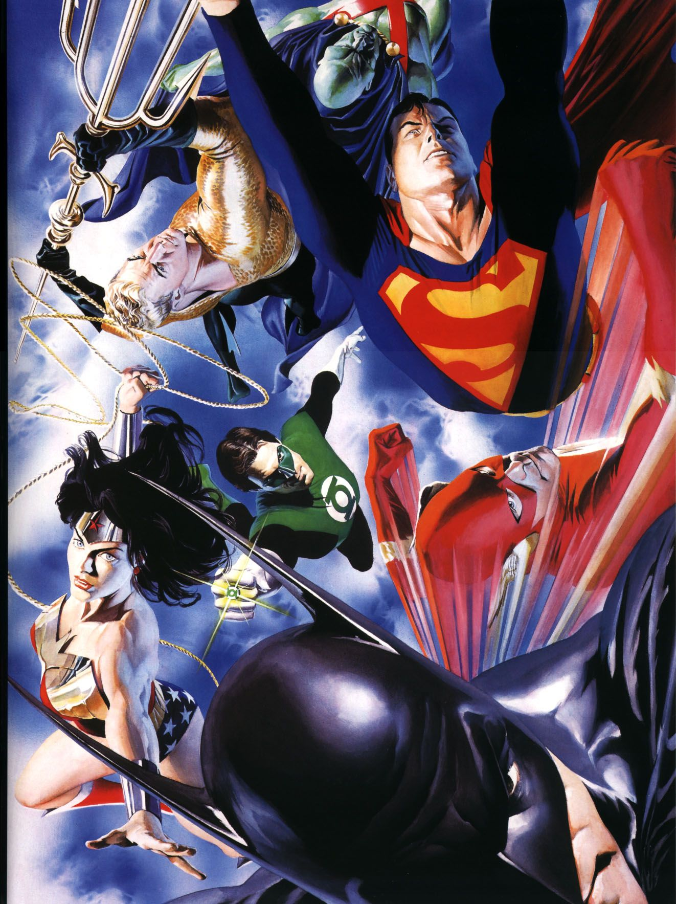 Justice League of America by Alex Ross | Alex ross ...