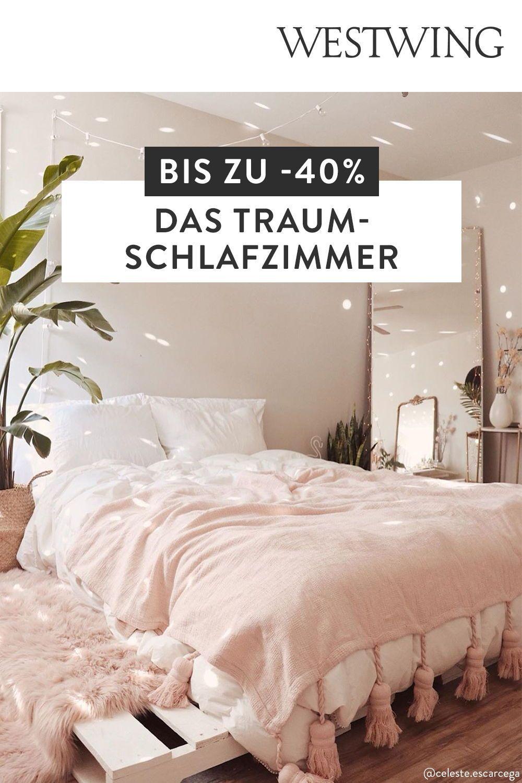 Bis Zu 40 Rabatt Auf Alles Rund Ums Schlafzimmer Wohnen Haus Deko Zimmer