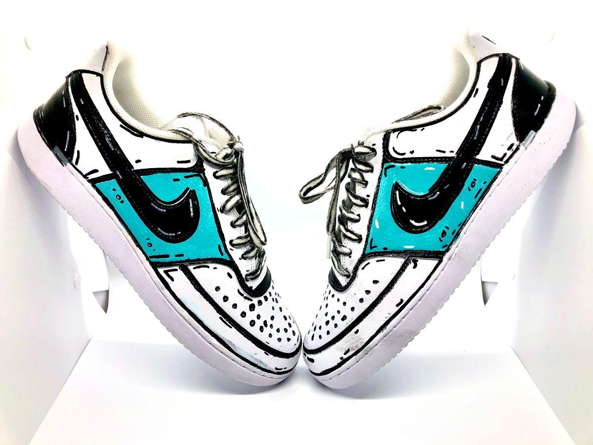 Custom Cartoon Shoes Etsy In 2020 Cartoon Shoes Custom Shoes Diy Cute Shoes For Kids