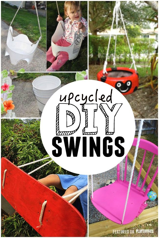 25 DIY Swings You Can Make For Your Kids - Playful