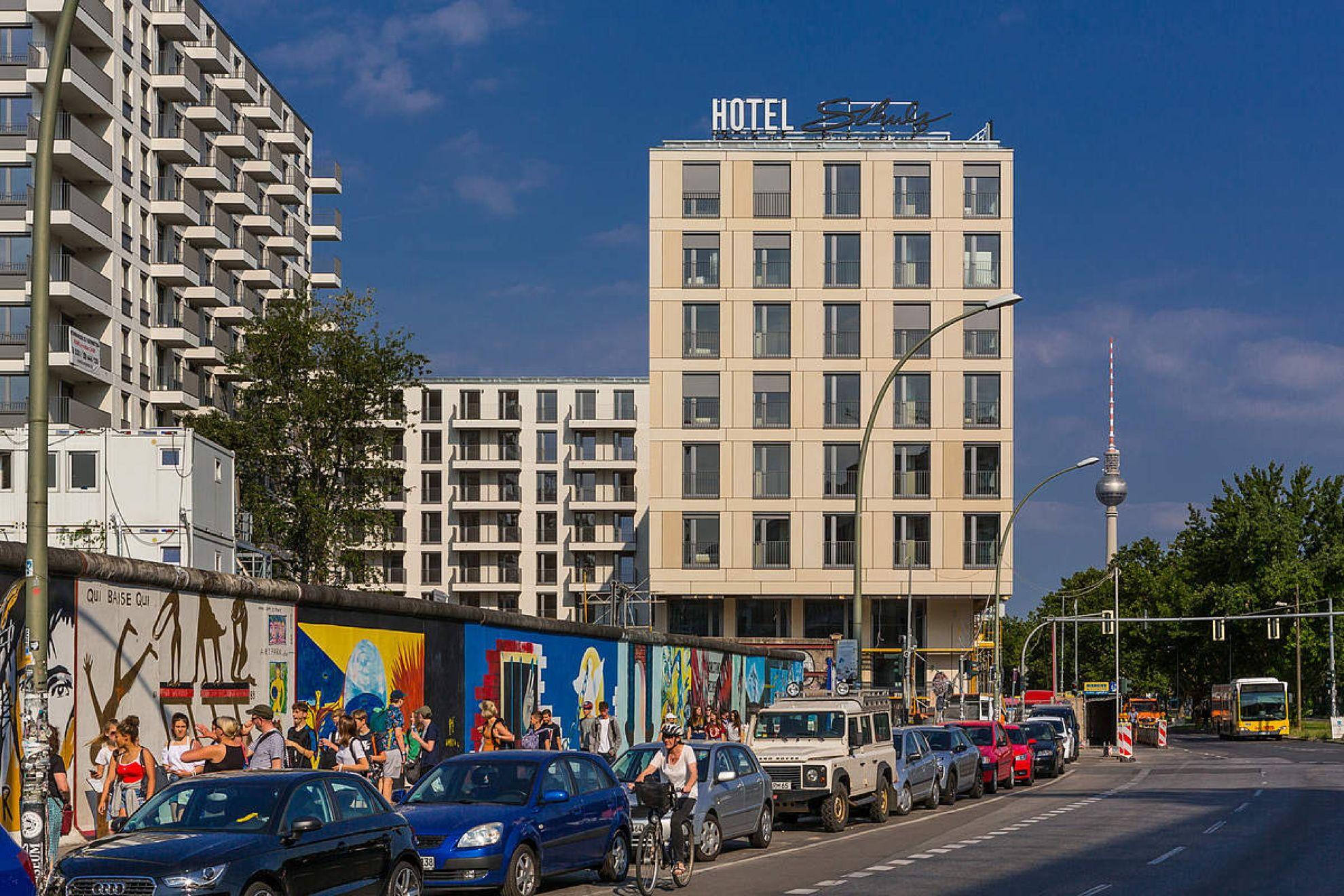 Schulz Hotel East Side Gallery Berlin