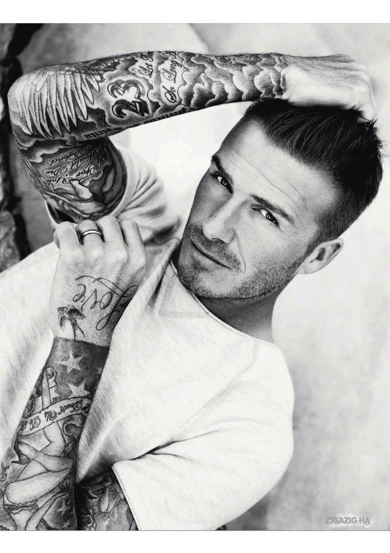 David beckham , tattoo , tattoos , ink , sleevetattoo ...