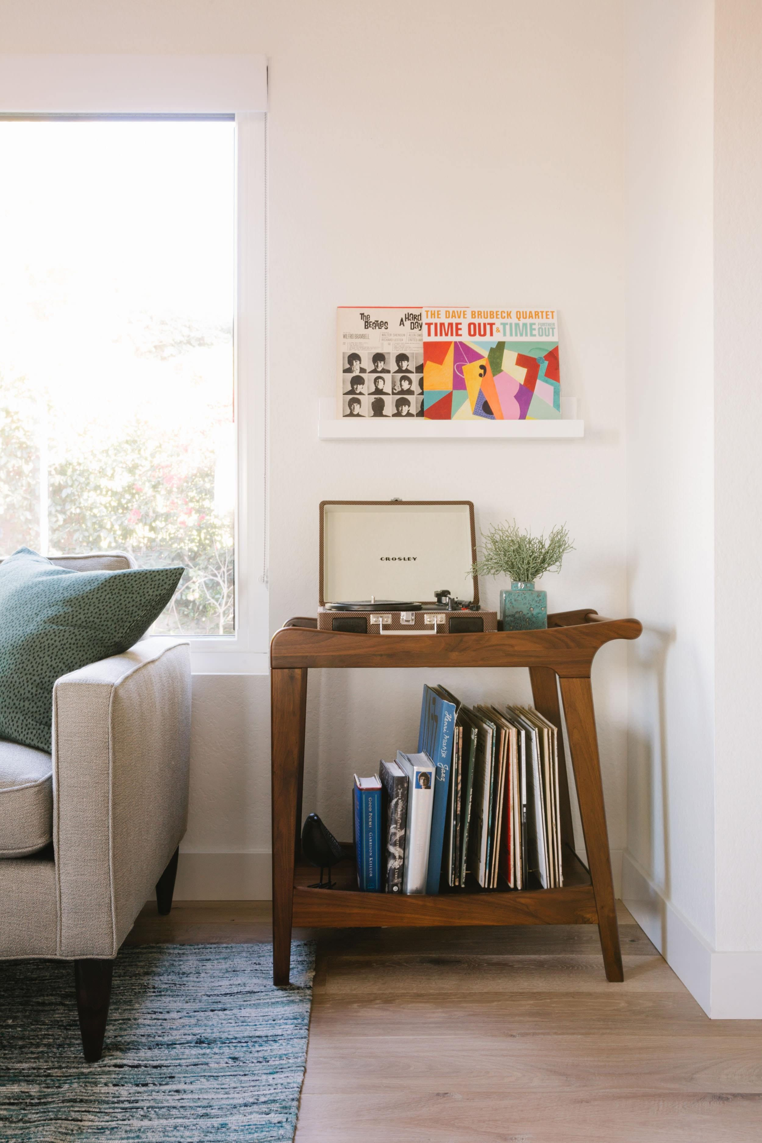 House Tour A Mid Century Modern Inspired Home Get The Look Emily Henderson Home Decor Retro Home Decor Home Decor Bedroom #record #player #in #living #room