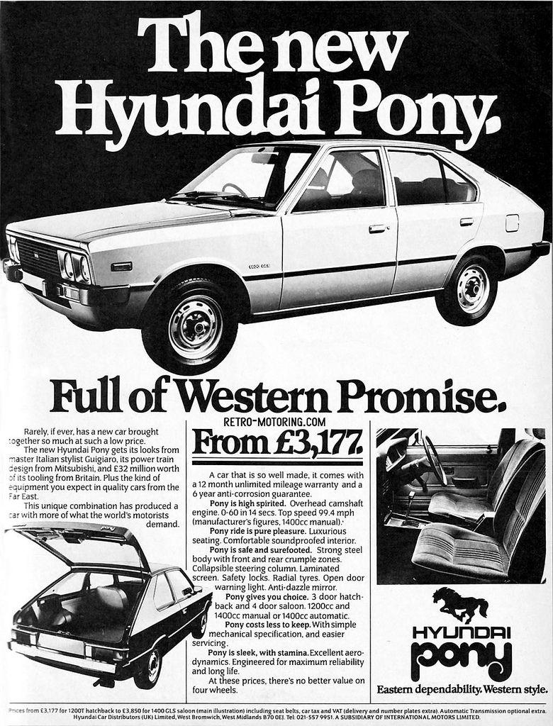 Hyundai old school. | HYUNDAI SERIES MANUAL | Pinterest | Cars