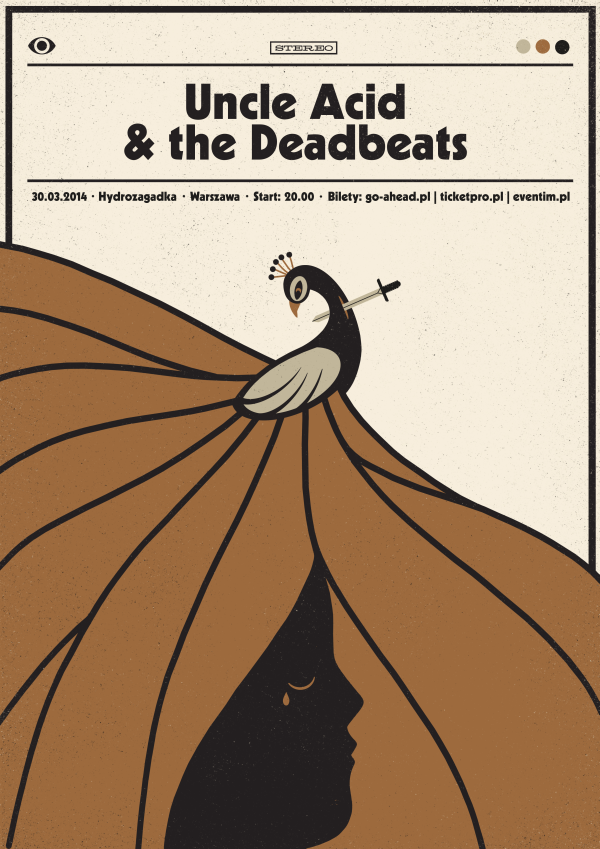 Uncle Acid The Deadbeats Poster Plakat Band Posters
