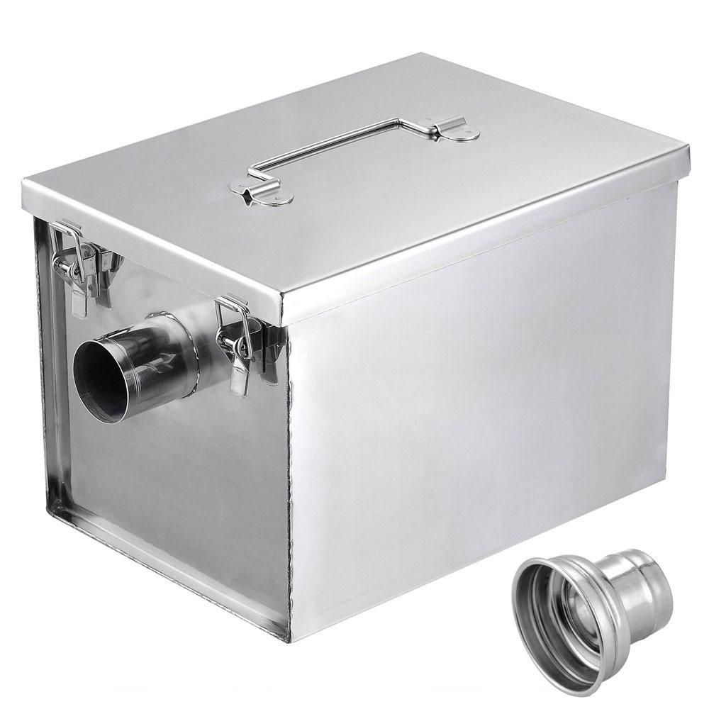 Grease Trap 8 Lb 5gpm Converter Stainless Steel Stainless Steel