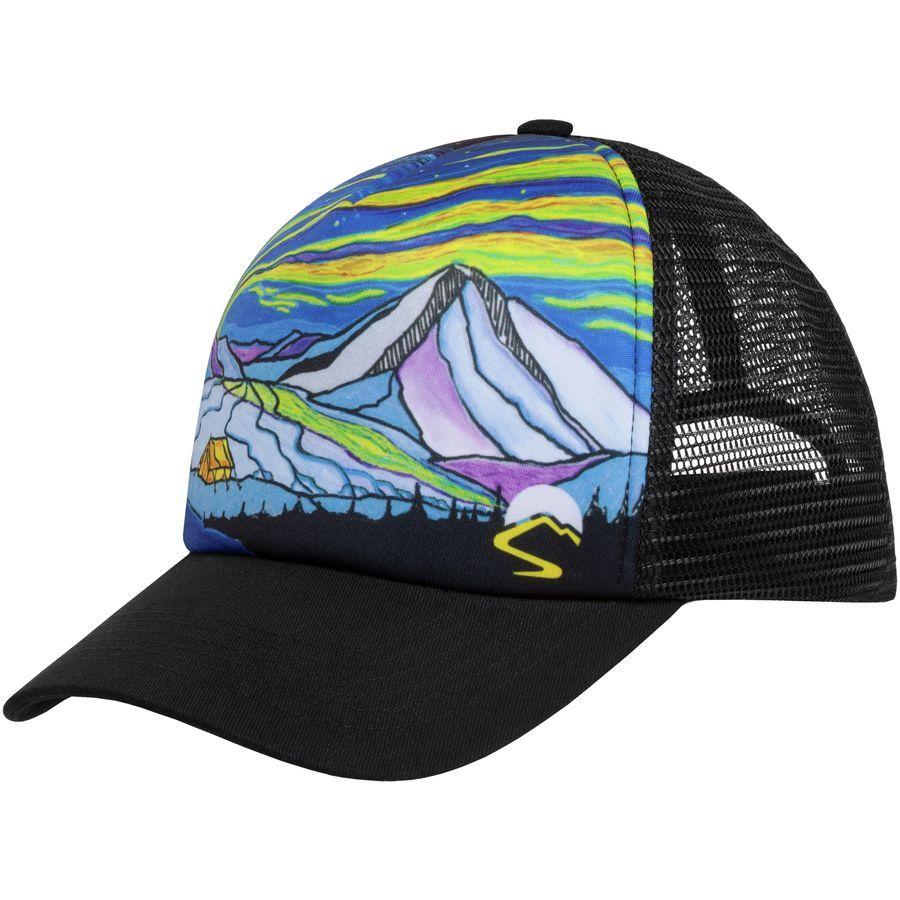 Artist Series Trucker Hat Trucker Hat Painted Hats Trucker Cap