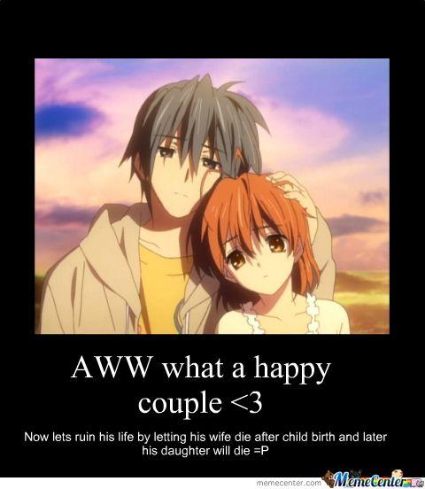 clannad sad meme - Google Search | Funny Feels (Anime ...