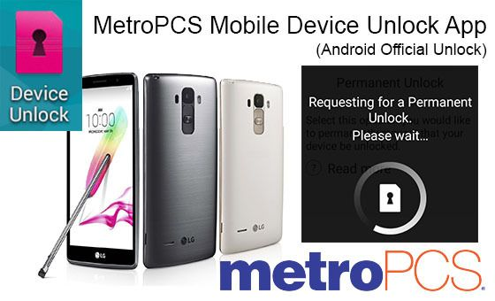 Request Metro PCS Android App Device