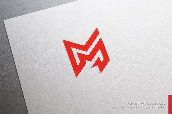 Colorful Letter M Logo By Nospacestore On Creativemarket
