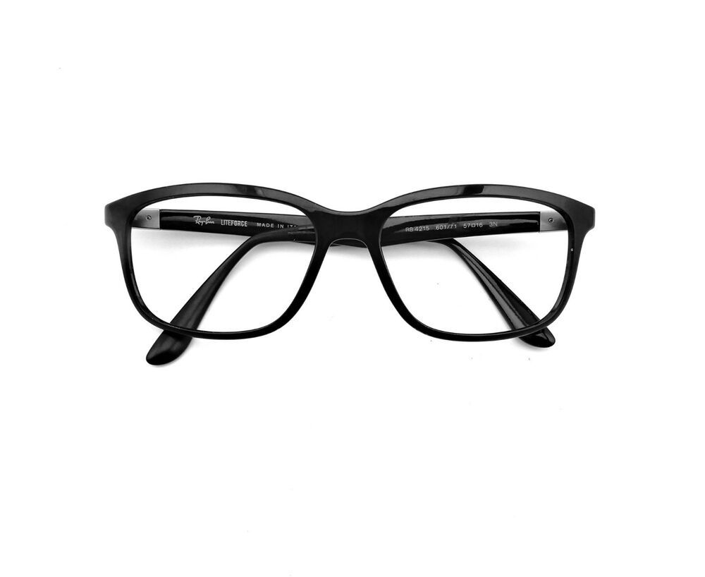 cc01d8dbc17 Ray Ban Liteforce RB4215 601 71 Shiny Black Sunglasses Frames Only 57mm  Italy  fashion  clothing  shoes  accessories  mensaccessories ...