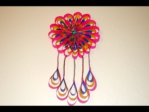 Diy Room Decor Ideas How To Make Paper Crafts Ideas To Decorate
