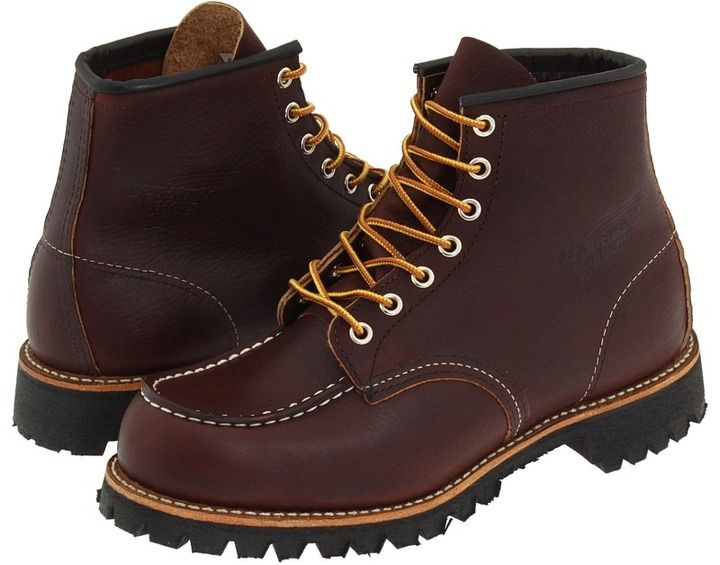 Red Wing Heritage 6 Moc Toe Lug Lace Up Boots | Wing shoes and Red ...