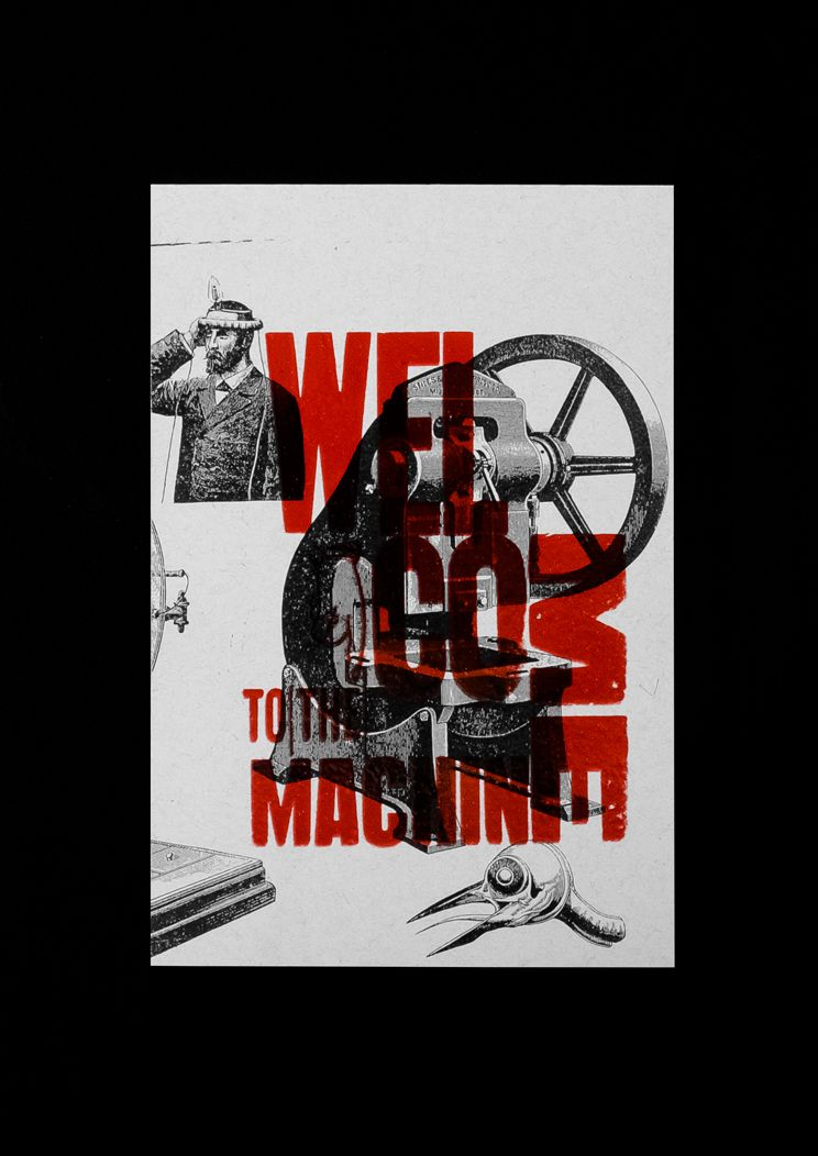Welcome To The Machine - Typography on Behance