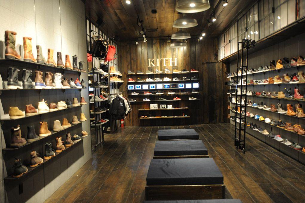 Atrium Brooklyn Amp Kith Shoe Store Opens Shoe Store