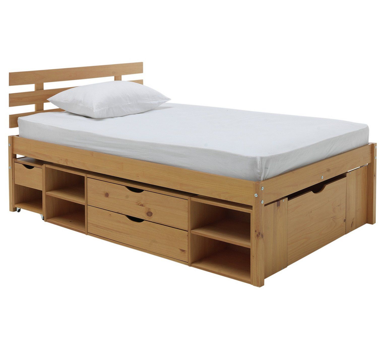 Buy Argos Home Ultimate Storage Ii Small Double Bed Frame