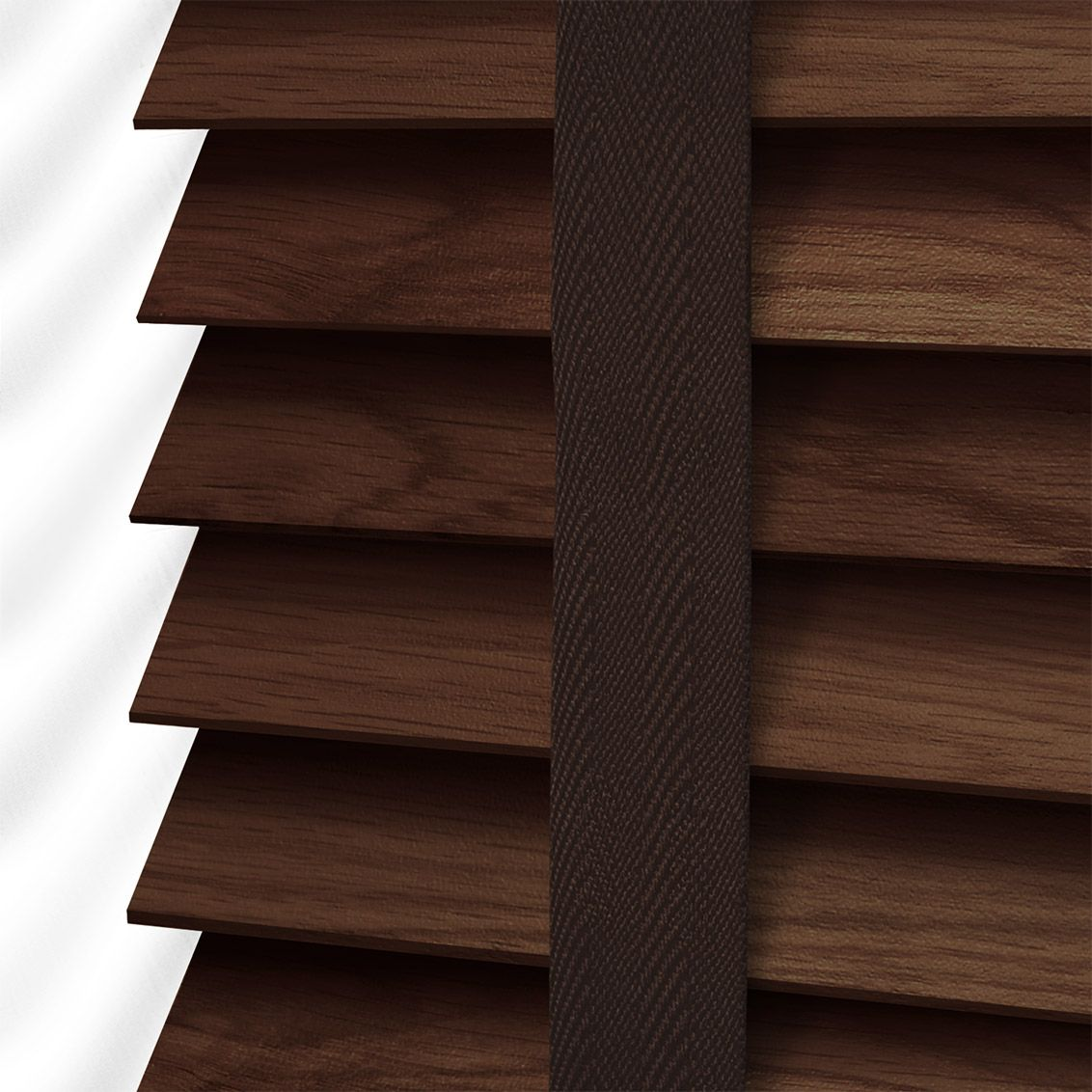 This Wooden Blind Will Add Such A Scoop Of Richness At The