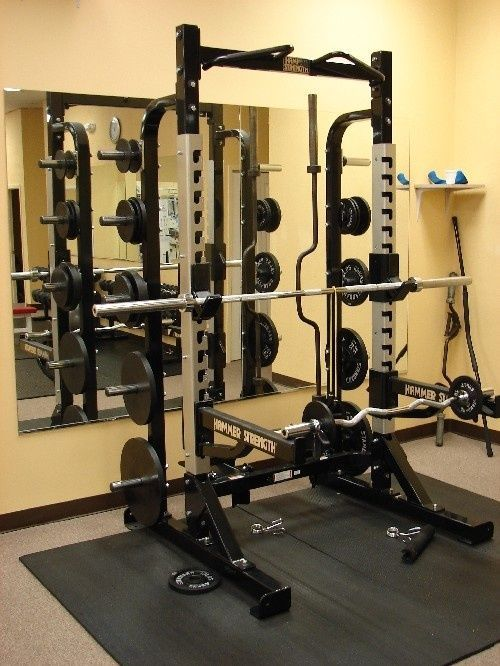 Hammer strength half rack crypted molesting chambers gym at