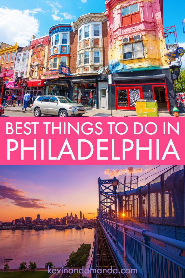 The BEST Things To Do in Philadelphia ~ an ultimate guide to what to do in Philadelphia #Philadelphia #philly #travel #pennsylvania #libertybell