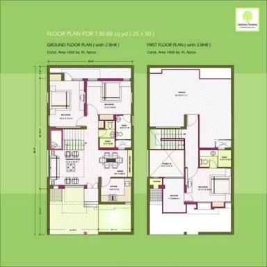 Image result for 2 bhk floor plans of 25 45 house plans for 25x50 house plan
