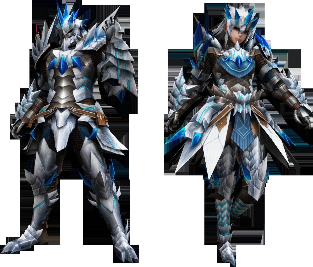 Male And Female Altera Armor Monster Hunter Monster Hunter